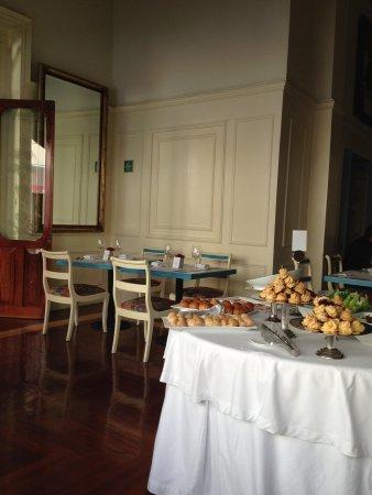 San Leonardo Puebla: Zona del restaurante