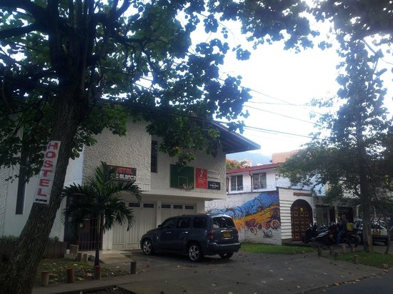 Hostel Casa Blanca: Front