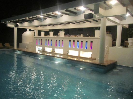 Playacar Palace:                   Swim up bar