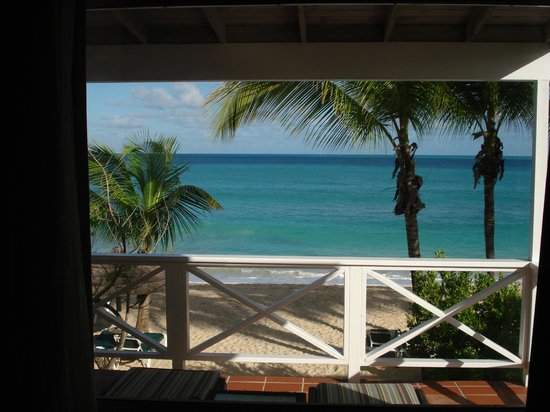 Galley Bay Resort:                   A room with a view