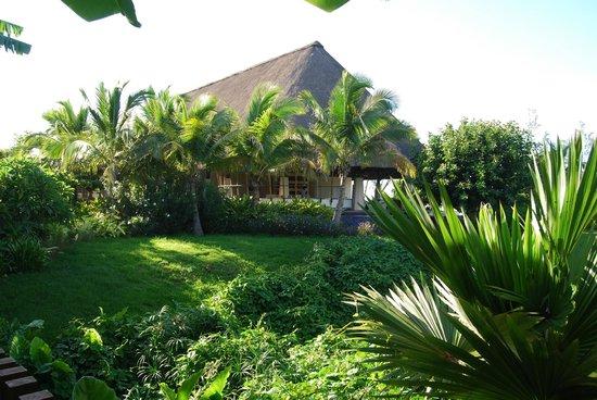 Sofitel So Mauritius:                   vue du bar depuis la réception