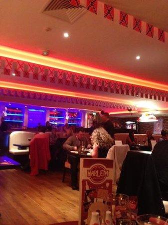 Harlem Cafe Bar Restaurant:                   Harlem hmmm