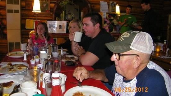 Cooke City's Elk Horn Lodge :                   Family Dining