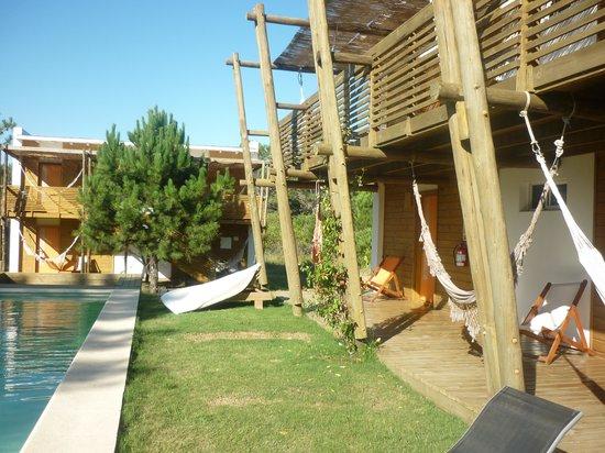 Posada Arenas de Jose Ignacio:                   The pool area