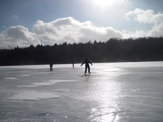 Lapland Lake Cross Country Ski Center:                   A Skating Adventure on Lapland Lake