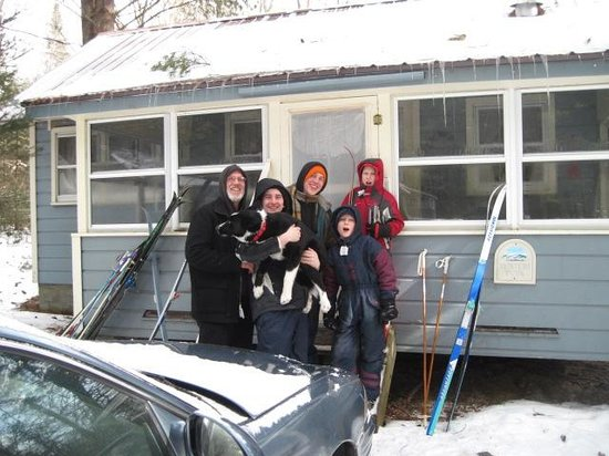 Lapland Lake Cross Country Ski Center :                   We Loved our Tupa!
