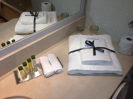 The Morrison, a DoubleTree by Hilton Hotel:                   bathroom toiletries