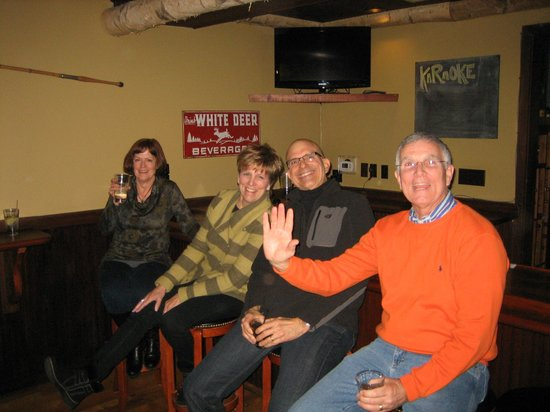 Western Avenue Bar and Grill:                   Nice folks