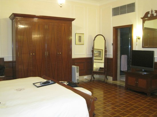 The Imperial Hotel:                   my room