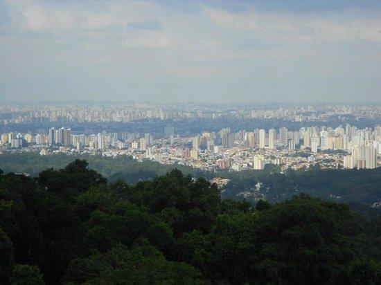 Vista de São Paulo do Parque Estadual da Cantareira, 2