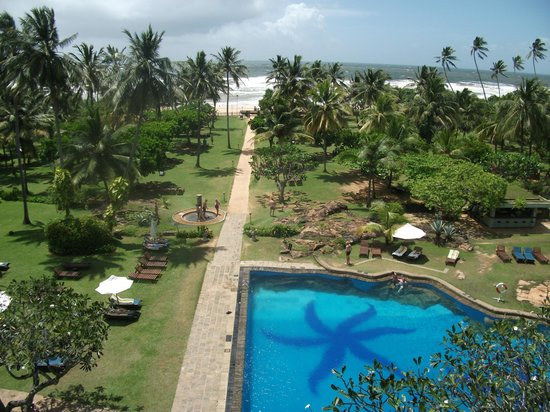 Bentota Beach by Cinnamon:                   view from room