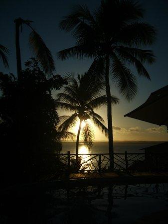 Hotel Pousada Natureza: puesta al sol desde la piscina