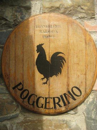 Fattoria Poggerino:                   wine tasting room :)
