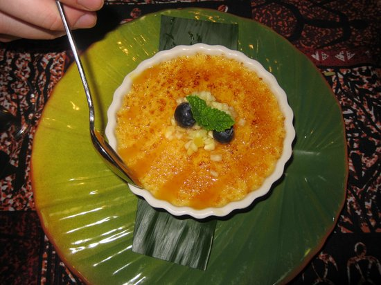 Mama's Fish House: Creme Brulee