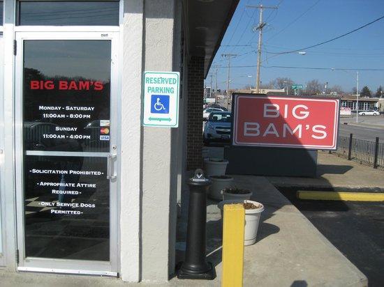 Big Bam's Burgers:                   Big Bam's