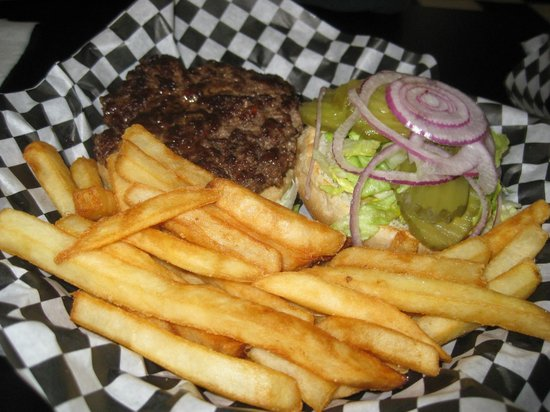 Big Bam's Burgers:                   The Backyard