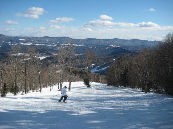 West Hill House B&B:                   Skiing at Sugarbush - Birch Run