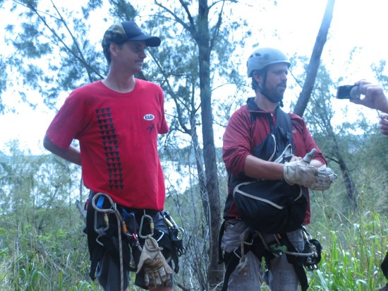Koloa Zipline:                   Our Great TourGuides!