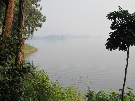 Bushara Island Camp:                   The lake