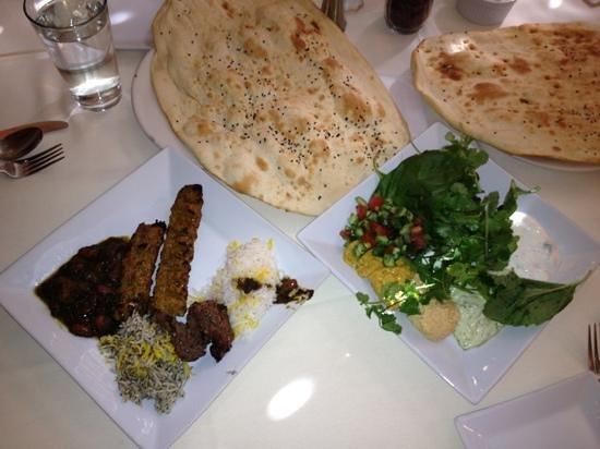 Persepolis Persian Cuisine: buffet at lunch