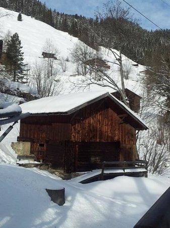 Hotel Alpina:                   im Skigebiet von Mürren