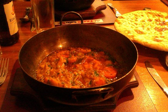 Al Frash: balti vegetable rogan josh