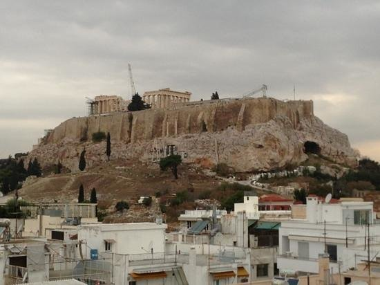 The Athens Gate Hotel:                   acropolis