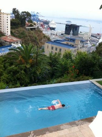 Casa Higueras:                                     Swimming in pool
