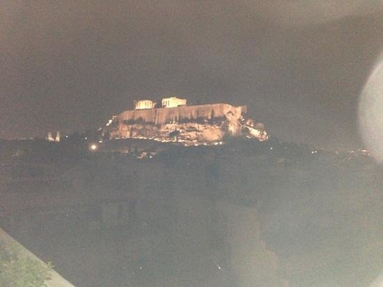 ‪‪The Athens Gate Hotel‬:                   acropolis at night