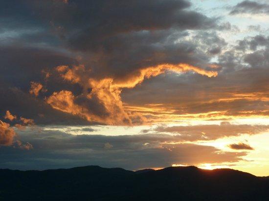 La Castagna:                   Sunset