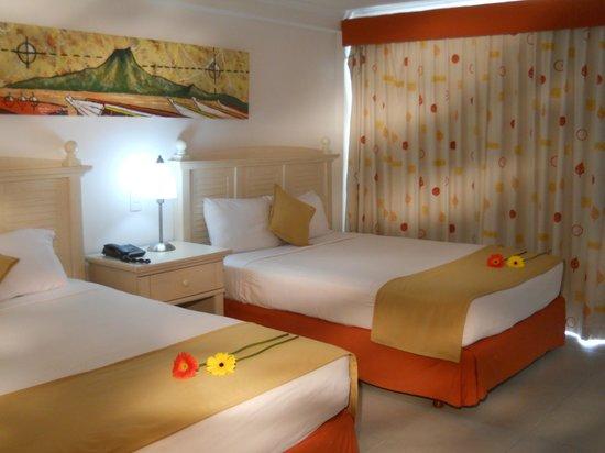 SUNSOL Isla Caribe: Habitación Premium Twin Area Real
