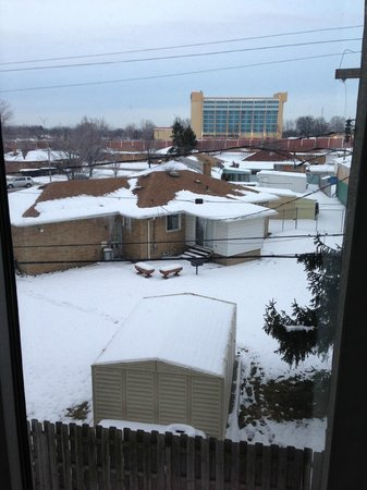 Four Points by Sheraton Cleveland Airport:                   My lovely view