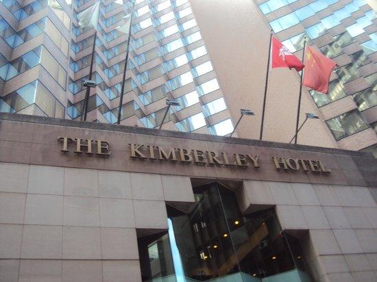 ذا كيمبرلي هوتل:                   frente del hotel                 