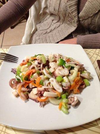 S. Pietro :                   insalata di mare