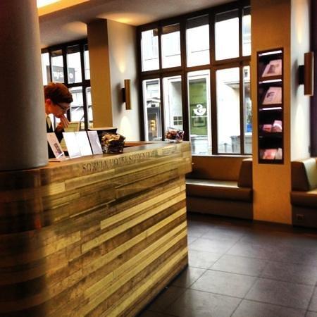 Sorell Hotel Seidenhof: reception