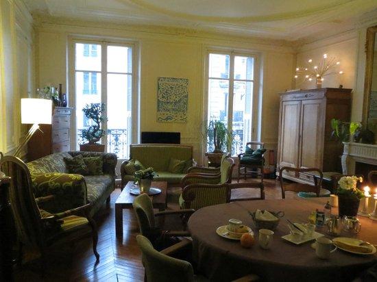 A Room in Paris:                   Breakfast is served
