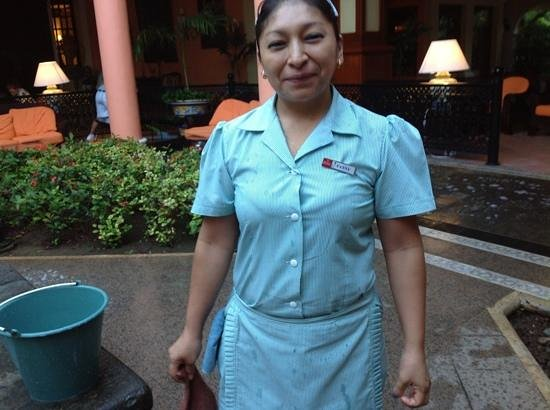 ClubHotel Riu Tequila:                   our lovely cleaner x
