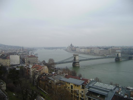 Corinthia Hotel Budapest:                   Up on Buda