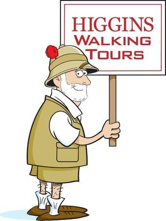Savannah Walking Tours with Tony Higgins: Logo