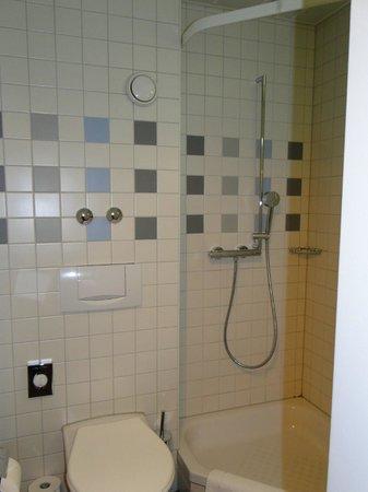 Hotel Basilea: baño impecable