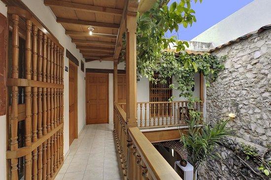 Casa Villa Colonial: balcones