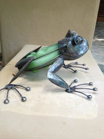 Florblanca Resort: The frog outside out villa - #3