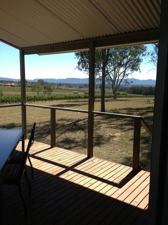 Blackwattle Luxury Retreats:                   View from Terrace