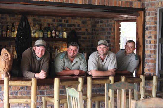 Gomo Gomo Game Lodge:                   The Rangers