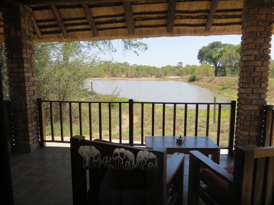 Gomo Gomo Game Lodge:                   View from our Villa
