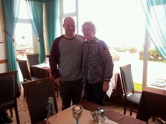 The Waterside House Hotel:                   Mum and brother