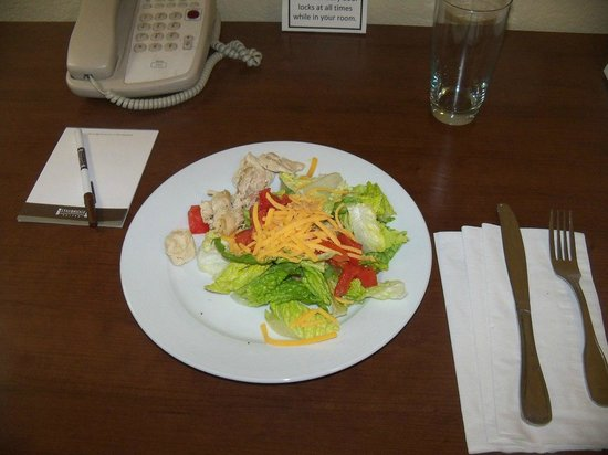 Staybridge Suites Phoenix/Glendale:                   Social Hour Salad-Took It To My Room