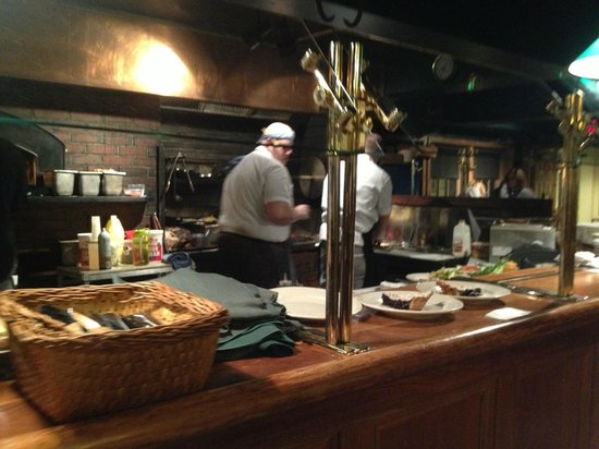 Broad Arrow Tavern: open concept kitchen