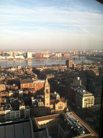 The Westin Copley Place, Boston: view from the room