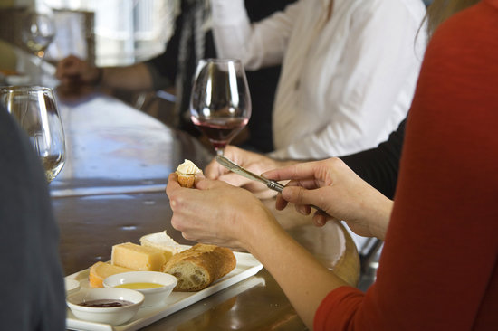 Clif Family Winery: Enjoying a Cheese Plate